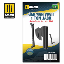 Ammo by MIG 1:35 German WWII 1 Ton Jack A.MIG-8114