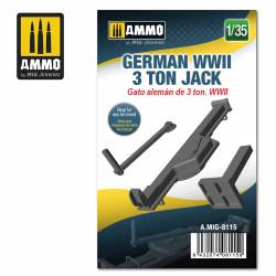 Ammo by MIG 1:35 German WWII 3 Ton Jack A.MIG-8115