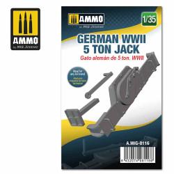 Ammo by MIG 1:35 German WWII 5 Ton Jack A.MIG-8116