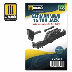 Ammo by MIG 1:35 German WWII 15 Ton Jack German A.MIG-8118