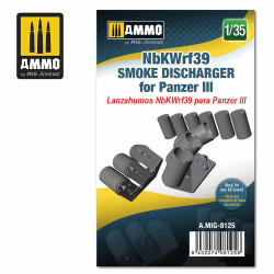 Ammo by MIG 1:35 Nbkwrf39 Smoke Discharged For Panzer III A.MIG-8125