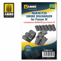 Ammo by MIG 1:35 Nbkwrf39 Smoke Discharged For Panzer IV A.MIG-8126