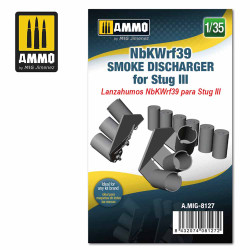 Ammo by MIG 1:35 Nbkwrf39 Smoke Discharged For Stug III A.MIG-8127