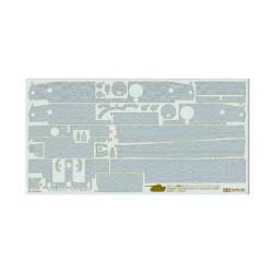 TAMIYA 12647 Zimmerit Coating Sheet - Tiger I Mid Late Prod 1:35 Military Kit