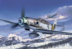 REVELL Messerschmitt Bf 109-G 1:32 Aircraft Model Kit 1:32 - 04665