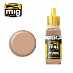 Ammo by MIG RAL 8031 F9 Sand Brown Acrylic waterbased colour17ml A.MIG-026