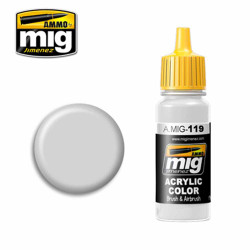 Ammo by MIG Cold Gray Acrylic waterbased colour17ml A.MIG-119