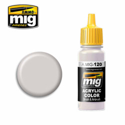 Ammo by MIG Light Brown-Gray Acrylic waterbased colour17ml A.MIG-120