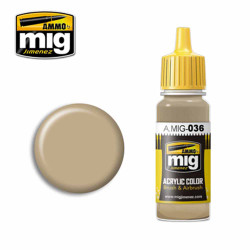 Ammo by MIG Old Wood Acrylic waterbased colour17ml A.MIG-036