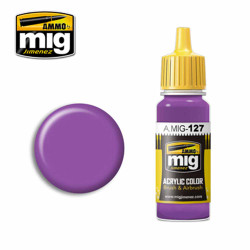 Ammo by MIG Purple Acrylic waterbased colour17ml A.MIG-127