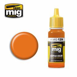 Ammo by MIG Orange Acrylic waterbased colour17ml A.MIG-129