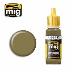 Ammo by MIG Real Idf Sand Grey 73 Acrylic waterbased colour17ml A.MIG-132