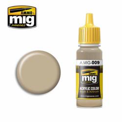 Ammo by MIG RAL 7027 Sandgrau Acrylic waterbased colour17ml A.MIG-009