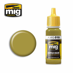 Ammo by MIG RAL 7028 Dunkelgelb (Mid War) Acrylic waterbased colour17ml A.MIG-010