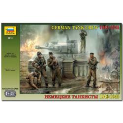 ZVEZDA 3614 German Tank Crew WWII 43-45 Model Kit 1:35