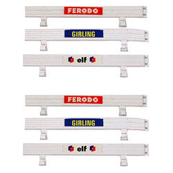 SCALEXTRIC Armco Barriers 6 White