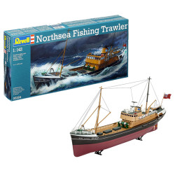 REVELL Northsea Fishing Trawler 1:142 Ship Model Kit 05204