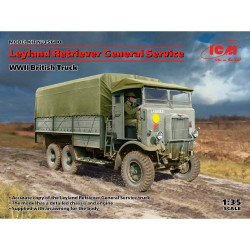 ICM 35600 Leyland Retriever WWII Truck General Service 1:35 Plastic Model Kit