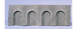 FALLER Stone Ashlars Round Arch Arcades Decorative Sheet HO Gauge 170838