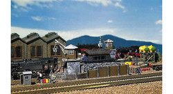FALLER Coaling Station Model Kit I HO Gauge 120147