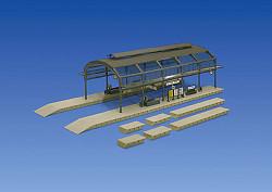 FALLER Overall Roof Model Kit (Double Track) I HO Gauge 120180
