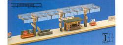 FALLER Covered Platform Model Kit III HO Gauge 120187