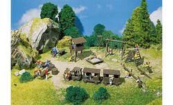 FALLER Adventure Playground Model Kit III HO Gauge 180577