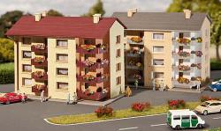 Faller Apartment Buildings (2) Building Kit III N Gauge 232304