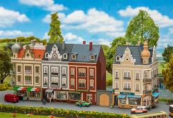 Faller Beethovenstrasse Row of Shops Building Kit III N Gauge 232385