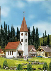 Faller Village Church Building Kit III Z Gauge 282775