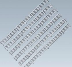 Faller Metal Roadside Fencing Building Kit I Z Gauge 282841