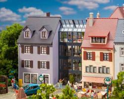 Faller German Terraced Townhouses (3) Kit III FA130707 HO Scale