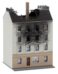 Faller House on Fire Kit FA232326 N Scale