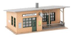 Faller Pusemuckel Wayside Station Kit FA110204 HO Gauge
