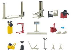 Faller Auto Workshop Equipment Kit IV FA180356 HO Gauge