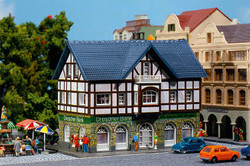 Faller Dresdner Bank Hobby Kit w/Lighting III FA232565 N Gauge