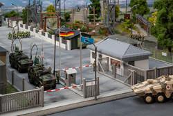 Faller Military Base Vehicle Entry Point Kit IV FA144102 HO Gauge