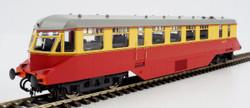 Heljan AEC Railcar BR Crimson/Cream White Roof OO Gauge Diesel Model Train HN19402