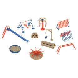 GAUGEMASTER Fordhampton Playground Plastic Kit OO Gauge GM426