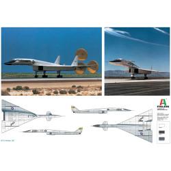 ITALERI XB-70 Valkyrie 1282 1:72 Aircraft Model Kit