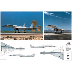 ITALERI XB-70 Valkyrie 1282 1:72 Aircraft Model Kit