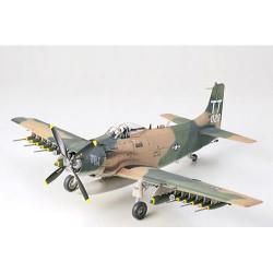 TAMIYA 61073 A-1J Skyraider U. S. Air Force 1:48 Aircraft Model Kit