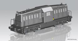 Piko Expert USATC 65-DE-19A Diesel Locomotive II PK52464 HO Gauge
