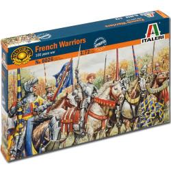 ITALERI French Warriors (100 Years War) 6026 1:72 Figures Model Kit