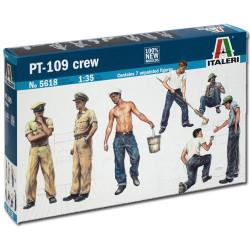 ITALERI PT-109 Crew and Accessories 5618 1:35 Figures Model Kit
