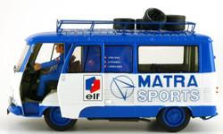 Le Mans Miniatures Peugeot J7 Van Team Matra Sport (Static Model) LMM132090M 1:32 Scale