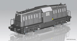 Piko Expert USATC 65-DE-19A Diesel Locomotive II (DCC-Sound) PK52466 HO Gauge