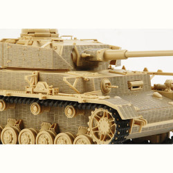 TAMIYA 12650 Panzer IV Ausf.J Zim Coating Sheet 1:35 Military Model Kit