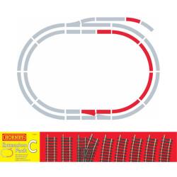 HORNBY R8223 TrakMat Track Extension Pack C