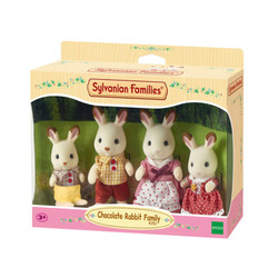 Chocolate Rabbit Family - SYLVANIAN Families Figures 4150